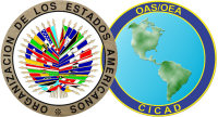 Logo of the OAS and CICAD